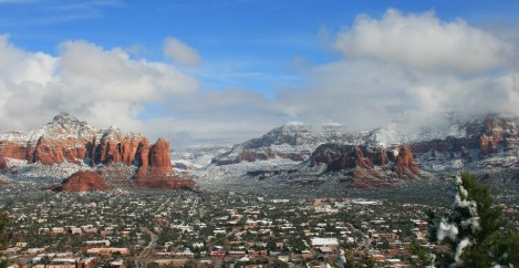 Sedona is a Winter Wonderland
